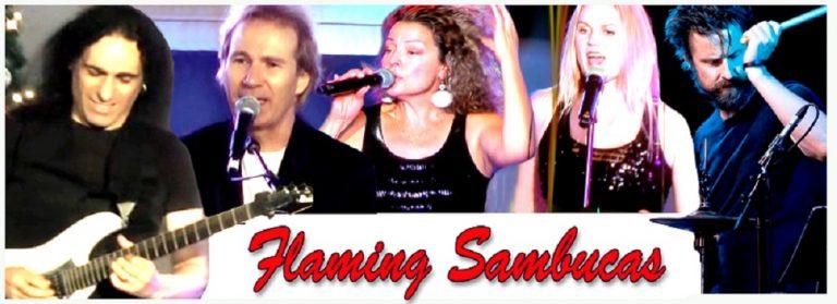 Flaming Sambucas